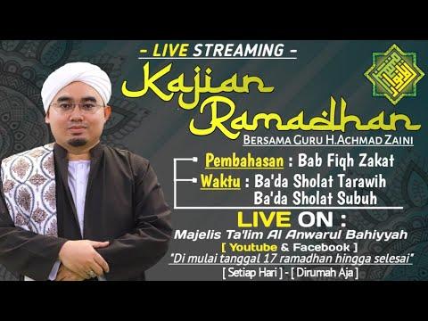 Download Guru A Zaini - 2020-05-12 Fiqih Zakat (Tarawih) - Kitab Taqriratus Sadidah MP3 & MP4