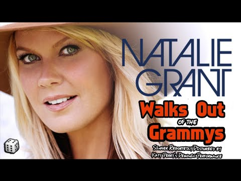 "Singer Natalie Grant Walks Out of Grammys After Katy Perry's ""Satanic"" Performance"