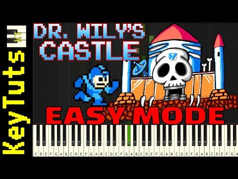 Learn to Play Dr. Wily's Castle from Mega Man - Easy Mode
