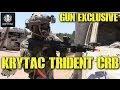 """DesertFox Airsoft Gun Exclusive: KRYTAC 10"""" TRIDENT CRB(KRYTAC CRB Gameplay)"""