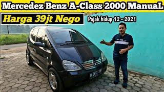 Mercedez Benz A140 2000 Manual | Harga 39jt Nego | Pemburu Mobil Murah