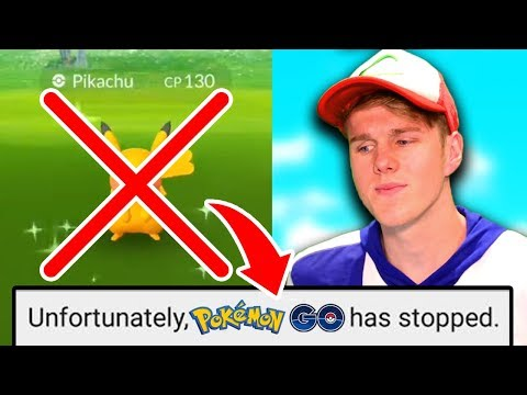 MY GAME CRASHED ON A SHINY POKEMON? (Pokemon Go)
