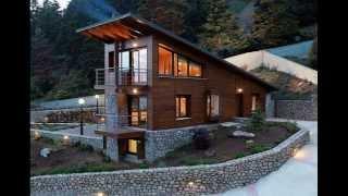 видео Проекты каменных домов