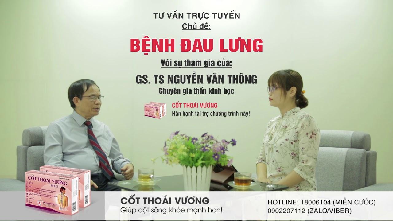 Đau lưng dưới gần mông là dấu hiệu của bệnh gì? GS. TS Nguyễn Văn Thông giải đáp