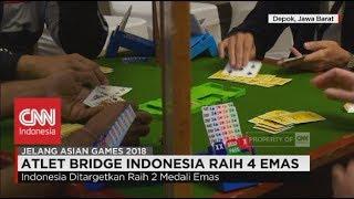 Atlet Bridge Indonesia Raih 4 Emas