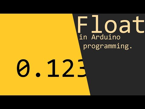 Float In Arduino Programming