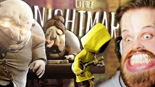 A new type of sausage party...insane ending!! • little nightmares live stream (part 3)