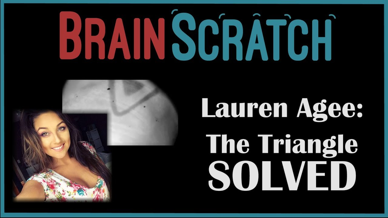 BrainScratch: Lauren Agee - The Mysterious Triangle SOLVED?