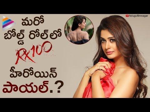 PAYAL RAJPUT New Movie Details Revealed   RX 100 Telugu Movie   Payal Rajput   Telugu FilmNagar