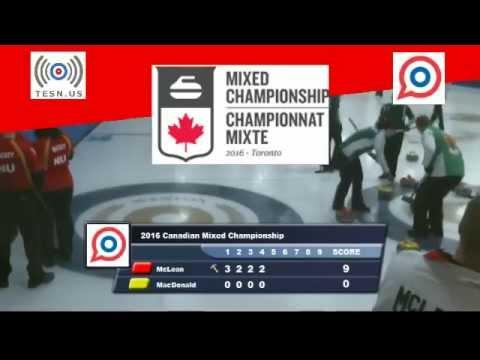 2016 Canadian Mixed Curling: Ontario vs Nunavut
