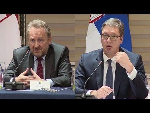 Verbalni spor Izetbegovića i Vučića u Mostaru