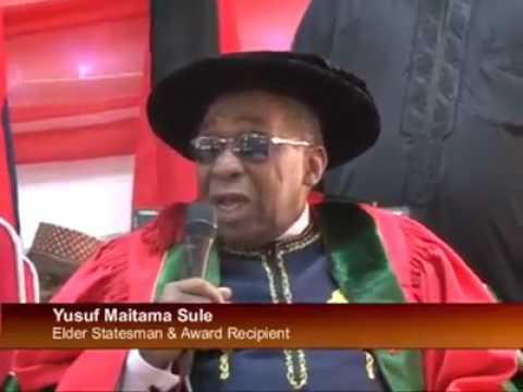 Rasuwan Yusuf Maitama Sule Dan Masanin Kano Allah yaji kanshi da rahma