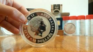 Why stack large government coins