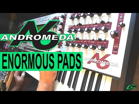 Alesis Andromeda Unleashes Enormous Pad Soundscapes Demo #4