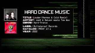 JamX & DeLeon meets Tom Wax - Louder (Hennes & Cold Remix) [HQ]