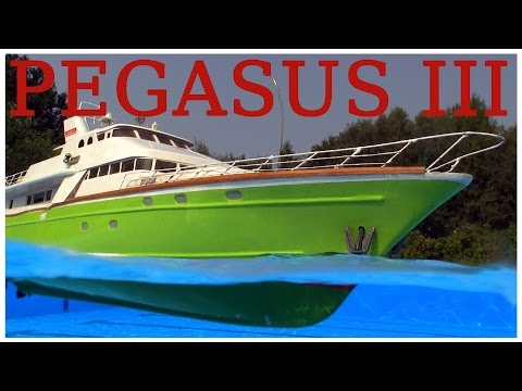"YT RC Modell | PEGASUS 3 the fast ""LUXUSYACHT"" from Graupner - Subwaterfilm"