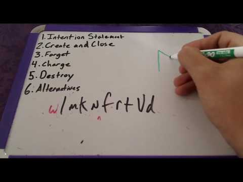 How to use Sigils and do Sigil Magic for Beginners