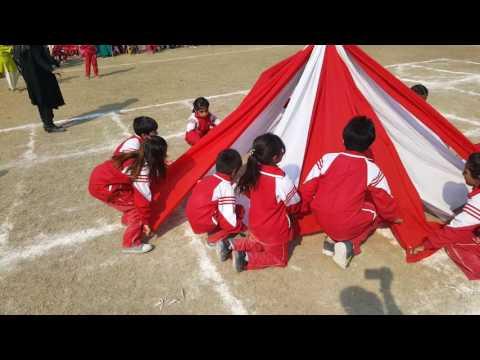 Fabric performance on Sports day at Learners' International School Faisalabad, pakistan