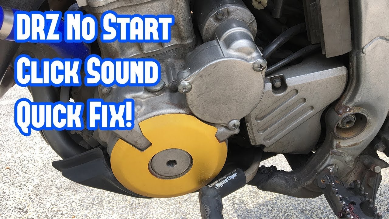 Quick Fix - Why Your DRZ 400 SM Does Not Start - The Click Sound [RP  Projects]