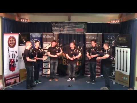 Field Marshal Montgomery Pipe Band - Piping Live 2015