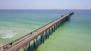 Panama City Beach Florida DJI Mavic Pro drone footage