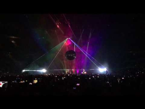 Roger Waters 8.2.17 Brain Damage/Eclipse finale at The Palace of Auburn Hills