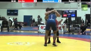 98 KG CR1 - Orry Elor (NYAC) vs. Tracy Hancock (OTC)
