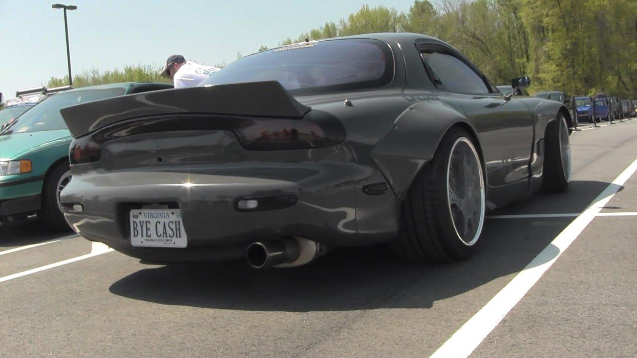 Mazda Rx7 2015 >> Rocket Bunny FD Mazda RX-7 - Tuner Evolution - YouTube