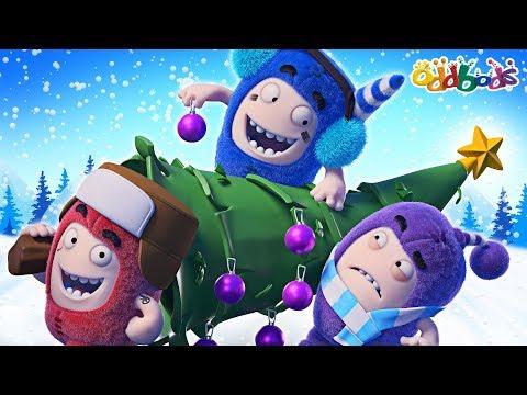 Oddbods | Winter Wonderland | Christmas Cartoons For Children