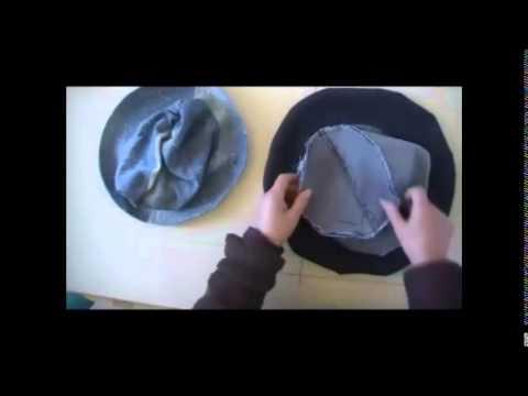 Patron y Armado de Sombrero o Gorro unisex - YouTube fc8ecc3bf2a