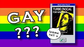 How to tell if you are GAY or NOT using TURBO PASCAL
