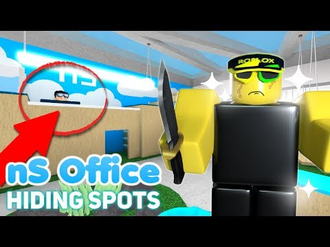 EVERY HIDING SPOT IN NEW NS OFFICE MAP! (20+ SPOTS!)