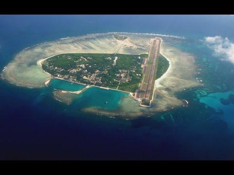 Kepulauan Spratly yang indah, kepulauan di Laut China