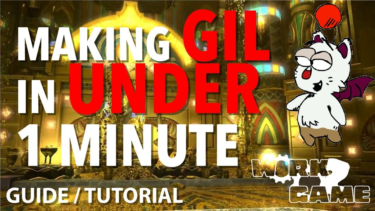 FFXIV making money without trying [Gil Making Guide]