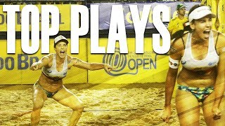 CBV Fortaleza 2018 • TOP WOMEN PLAYS #6 • Beach Volleyball World