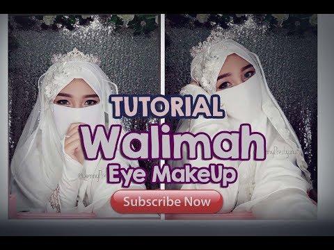 HEMAT!! Menikah dandan sendiri BISAA! Tutorial Walimah Eye Makeup