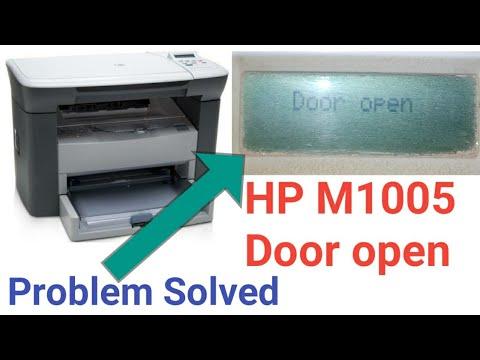 HP M1005 Printer Door Open Problem Solved Hp Laserjet M1005 Door Open Error