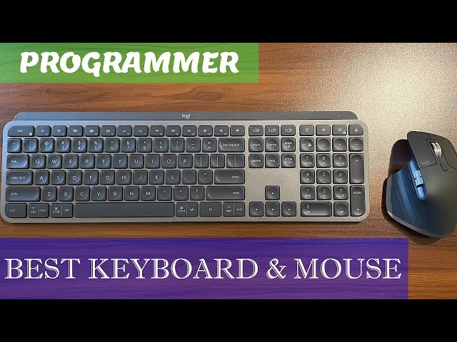 Best Keyboard and Mouse for Programmers