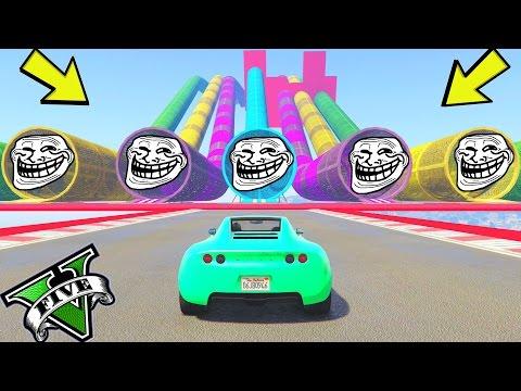 GTA 5 ONLINE 🐷 GARE TROLL 🐷N*27🐷 GTA 5 ITA GAMEPLAY 🐷 DAJE !!!