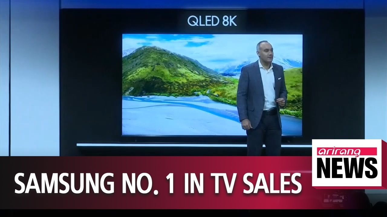Samsung Electronics took 29% of global TV market share by sales in 2018
