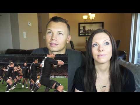 THE GREATEST HAKA EVER? | ALL BLACKS TEAM | COUPLE REACTS!!