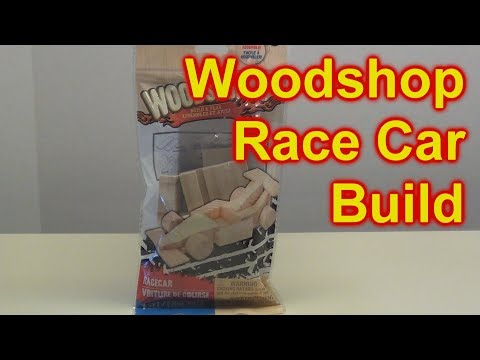 Lets Make A Pinewood Derby Car Using Dollar Tree Wood Shop Kit