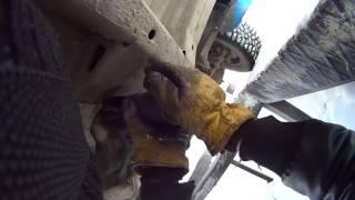 Замена масла в МКПП на ATF. Замена масла в заднем мосту.  ГАЗ 31105.