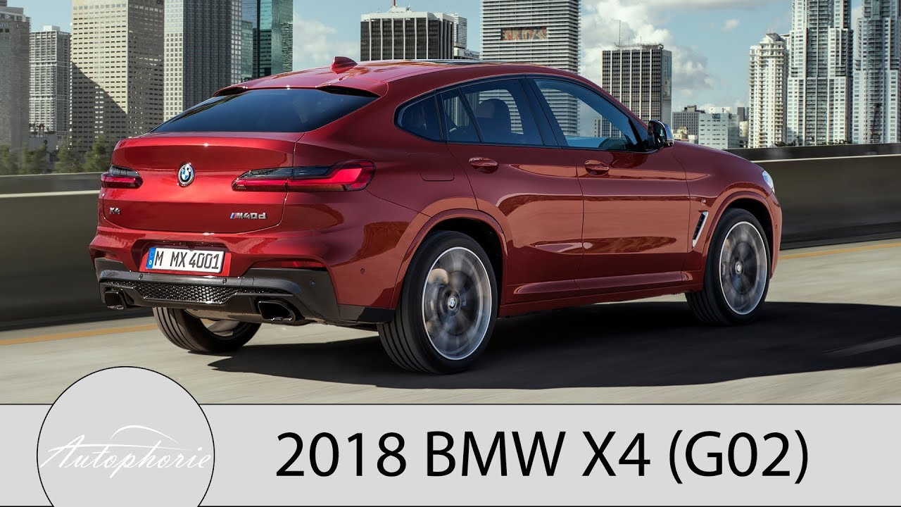 2018 bmw x4 g02 premiere suv coup mit zwei m. Black Bedroom Furniture Sets. Home Design Ideas