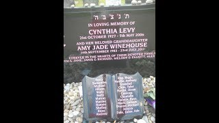 Visiting Amy Winehouse grave @ Edgwarebury Cemetery