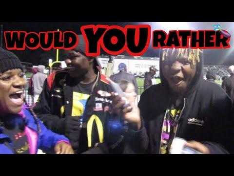 D.I.R.T.Y WOULD YOU RATHER?! (Liberty Eylau High School Edition)