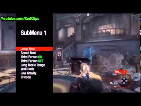 Black Ops Zombies Mod Menu Working 2013 (Xbox,PS3,PC) USB