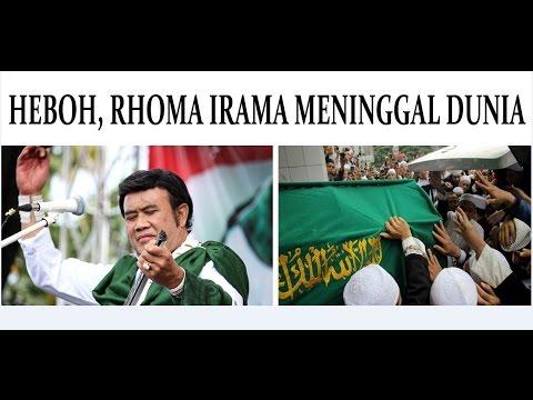 HEBOH, Rhoma Irama meninggal dunia