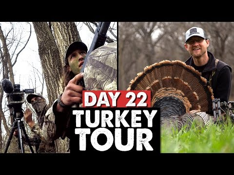 GETTING CLOSER, KS BOW BIRD! - Public Land Turkey Tour Day 22