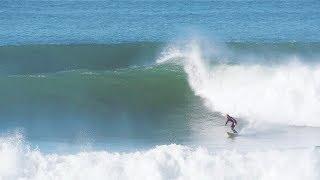 SURFING BIG OCEAN BEACH